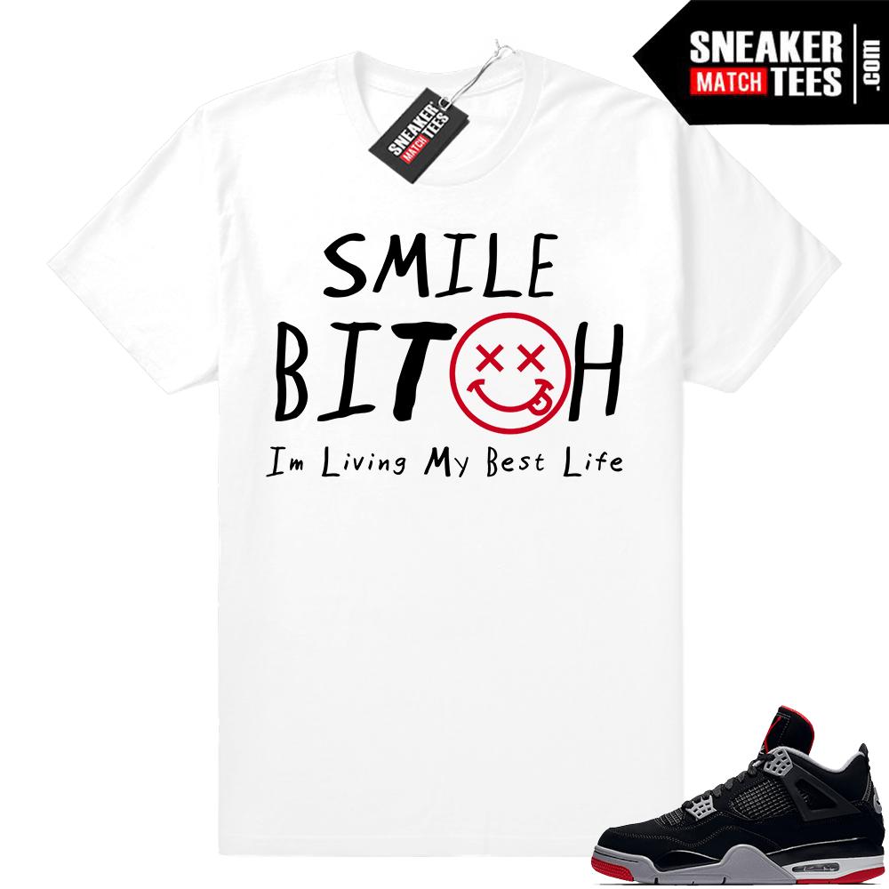 f23cbe250 Sneaker Match Tee Shirt Bred 4s