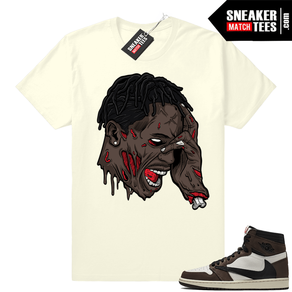 54a4d3116bb Jordan 1 Travis Scott tee match | Jordan Match Clothing Shop