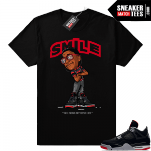 new products 7b524 d69c3 Shirts to match Air Jordan retro 4 sneakers
