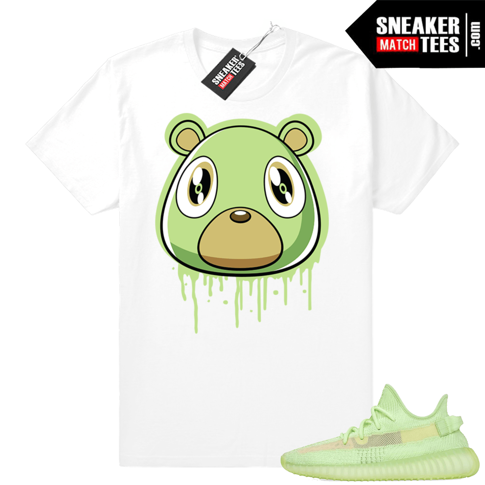 Yeezy 350 V2 Green Glow shirts