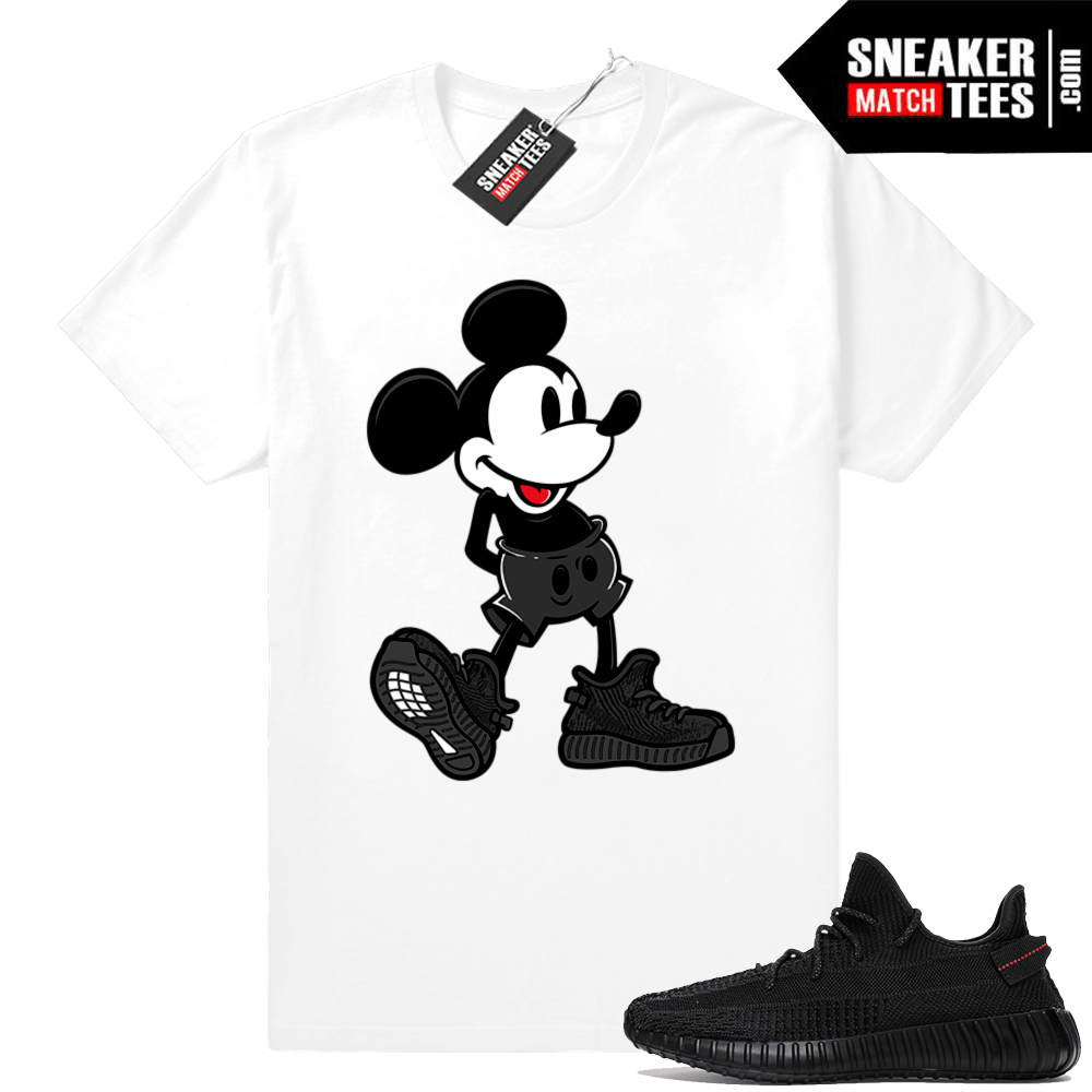 Tees match Yeezy Boost 350 Black
