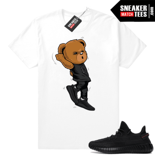 Yeezy Boost 350 black sneaker tees