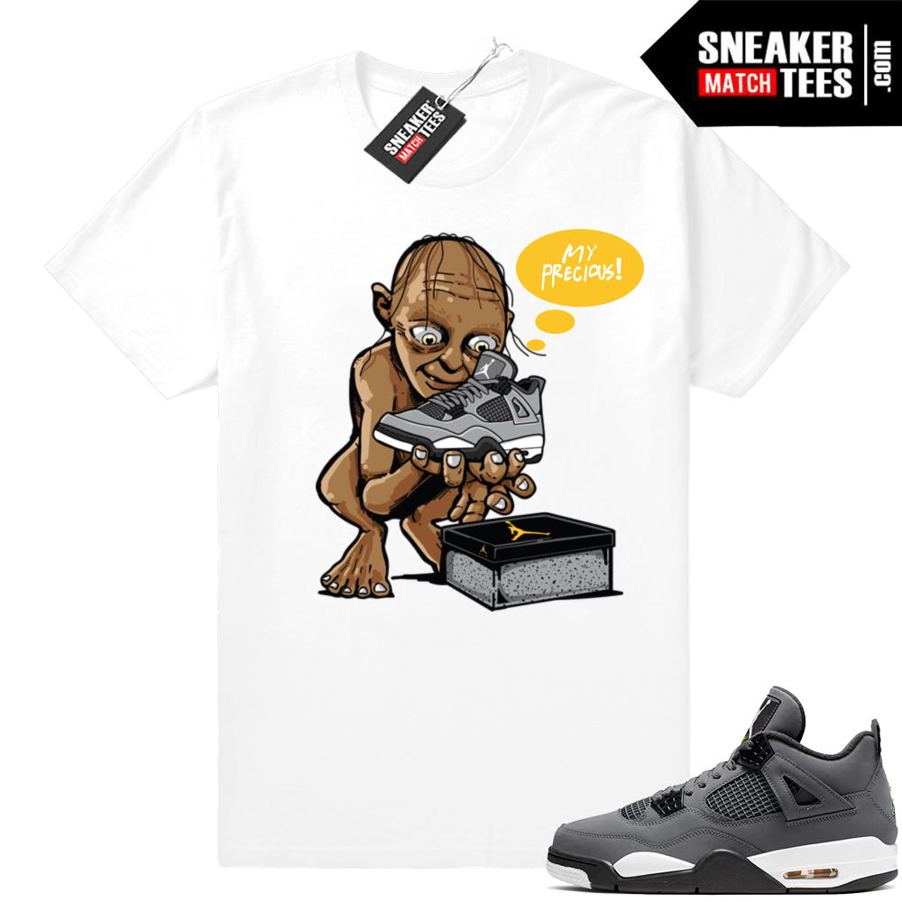 Cool Grey 4 Jordan shirt match