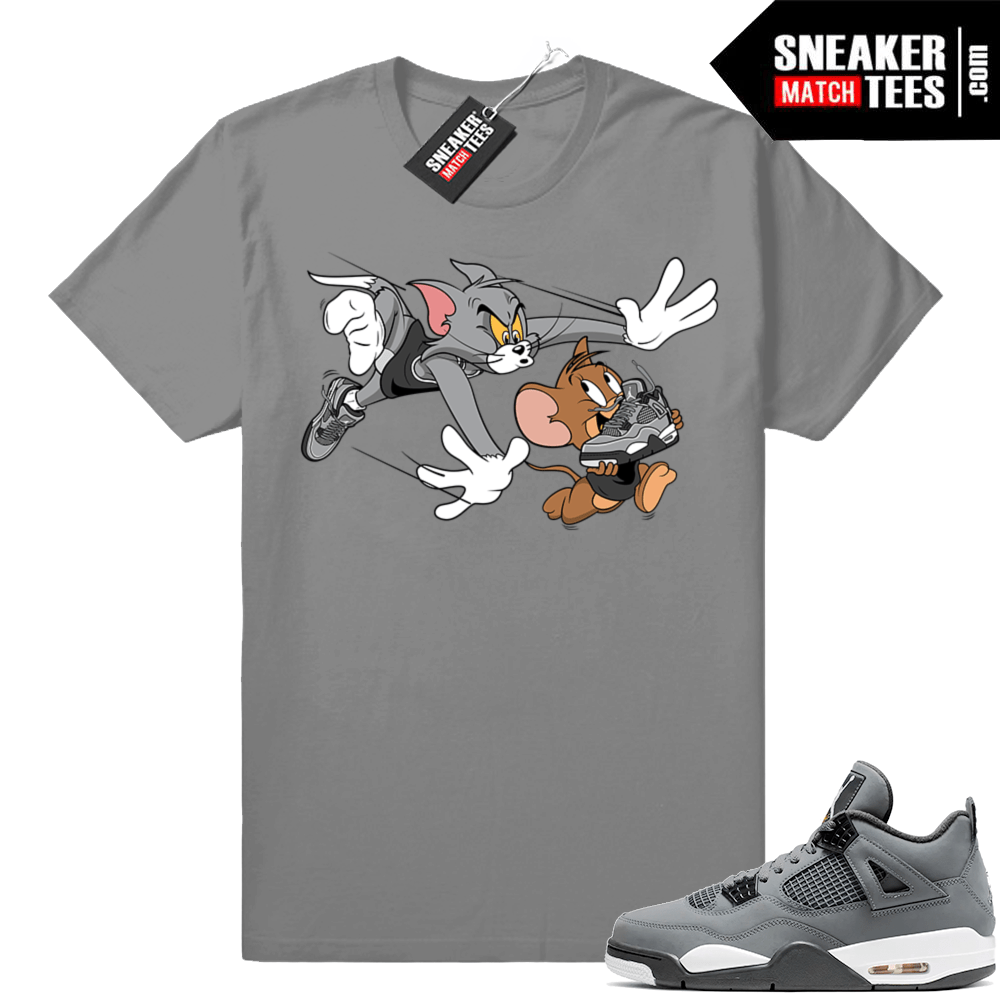 Cool Grey 4 sneaker shirt
