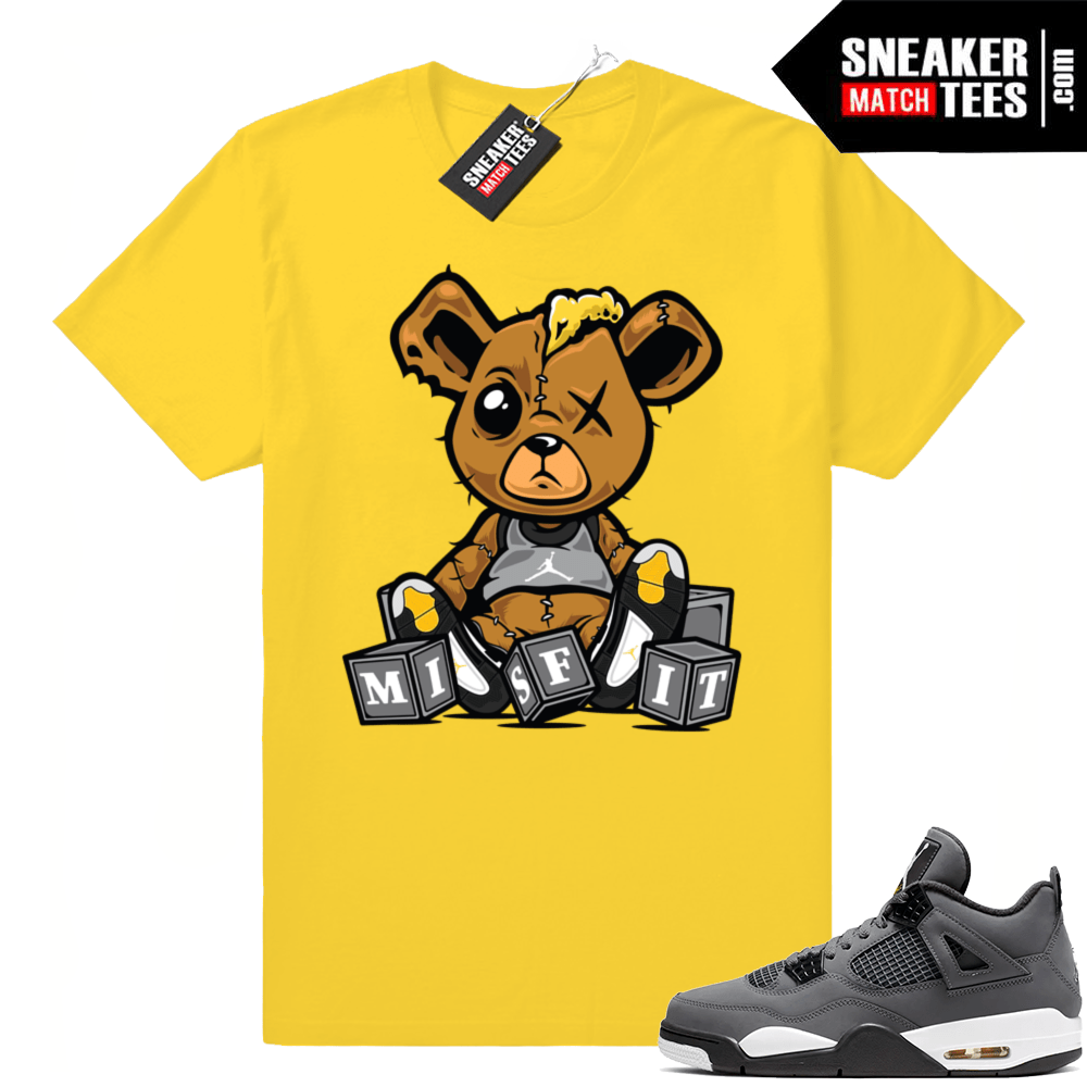 Jordan 4 Cool Grey Sneaker tees match