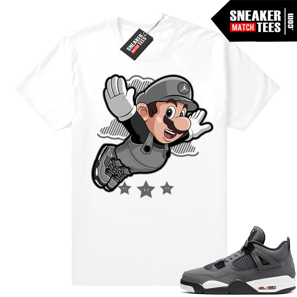 Jordan shirts Cool Grey 4s