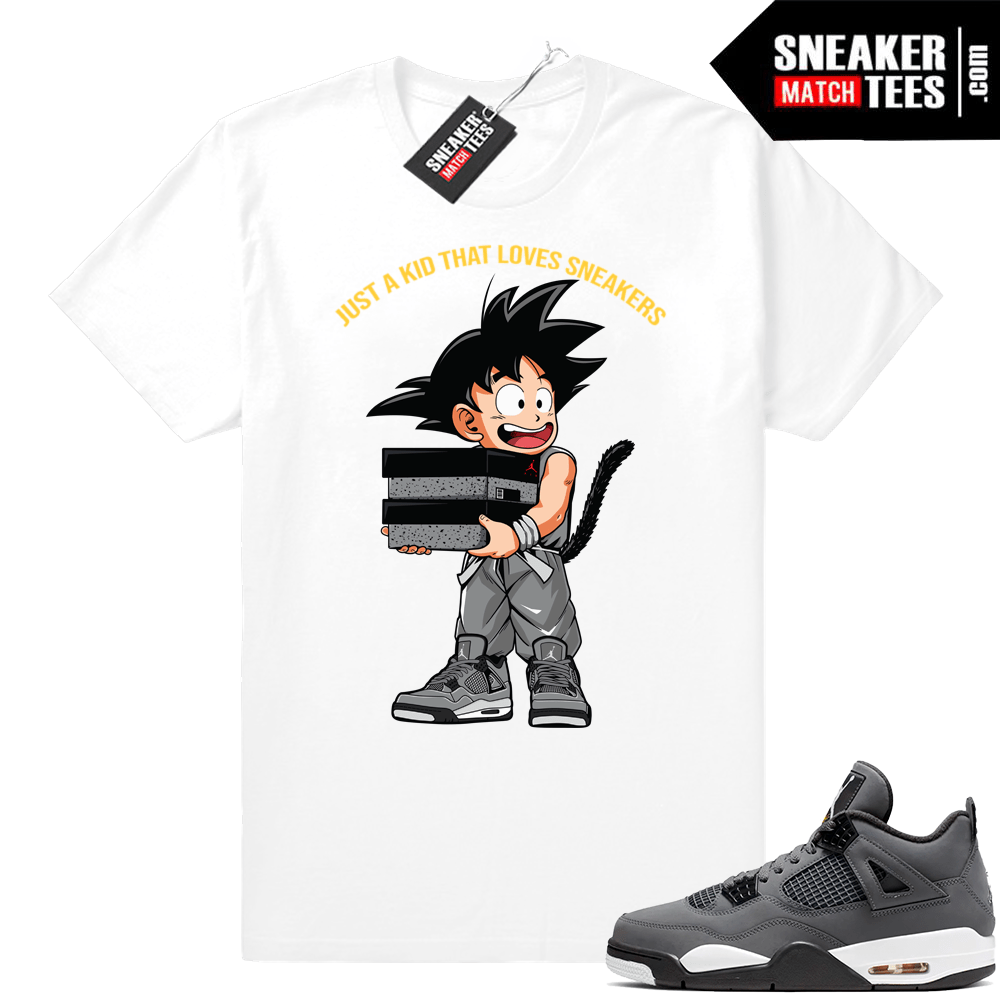 Shirts Jordan 4 Cool Grey