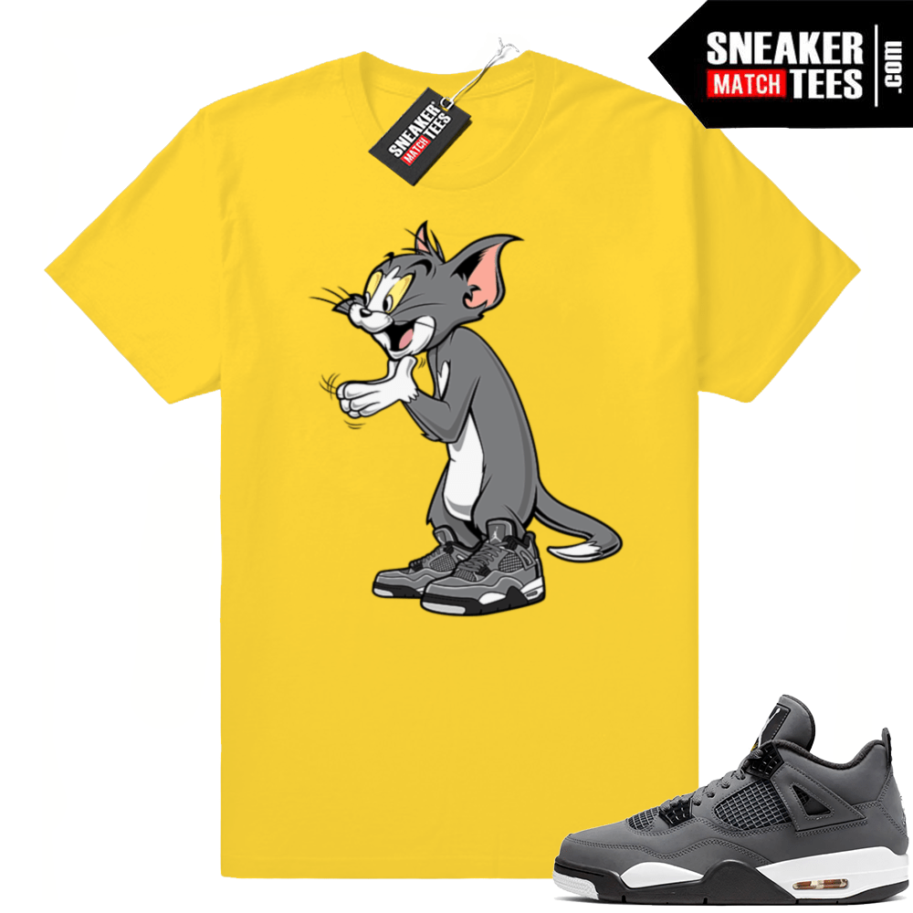 Sneaker Match Cool Grey 4s tee
