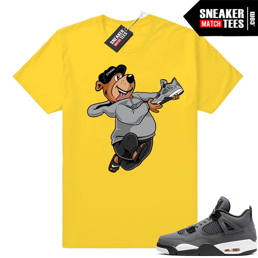 Sneaker shirts to match Cool Grey 4s