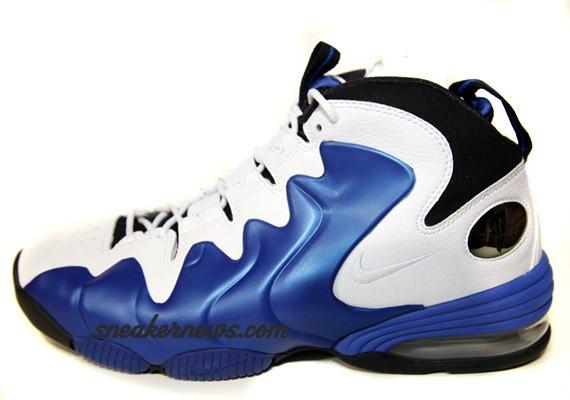 Nike Air Penny III 3 Liquid White Black Royal Blue