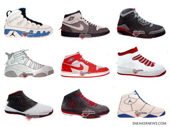 Air Jordan   Fall 2010 Releases