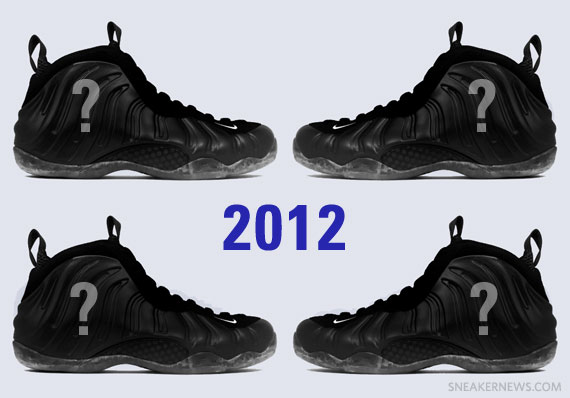 Four More Air Foamposite Releases Confirmed For 2012