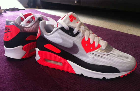 Nike Air Max 90 Hyperfuse Infrared  US Release Date