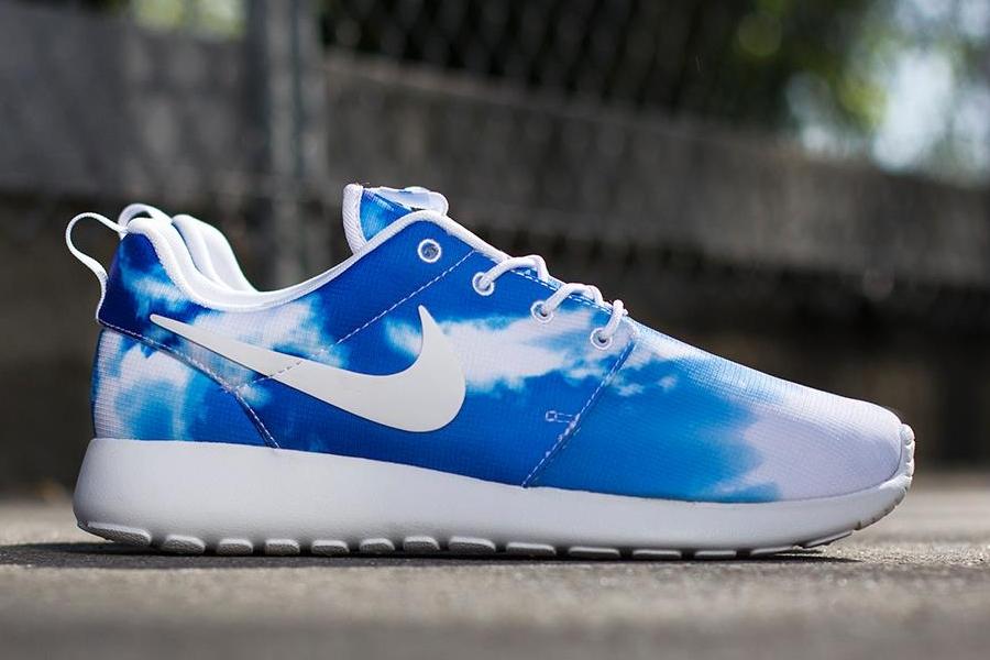 Nike Roshe Run Print Sunrise  Blue Sky  SneakerNewscom