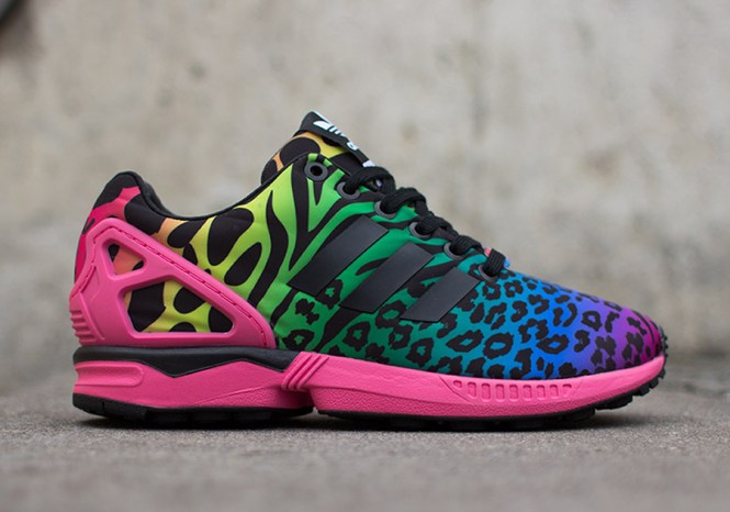 sports shoes ceeb5 44873 tame your wild side with the adidas originals zx flux decon cheetah