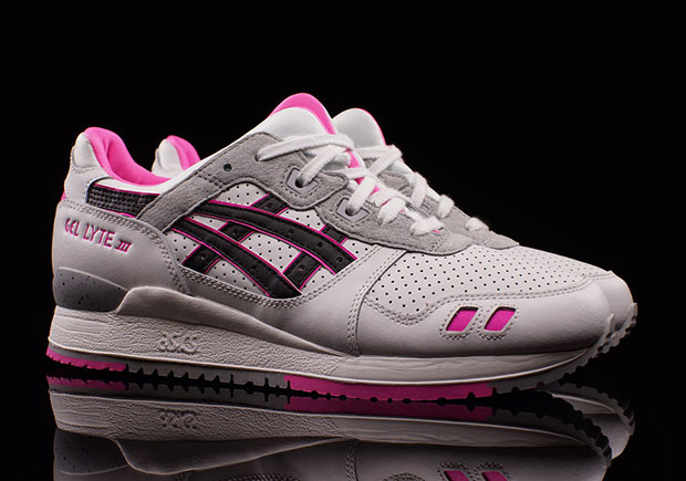 More Pink Tones On The ASICS GEL Lyte III As Valentines