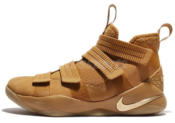 Nike LeBron Soldier 11 Wheat 897647700 SneakerNewscom