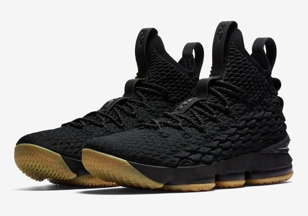 Nike LeBron 15 BlackGum Official Release Info Photos