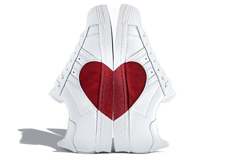 Adidas Superstar Valentines Day Heart CQ3009