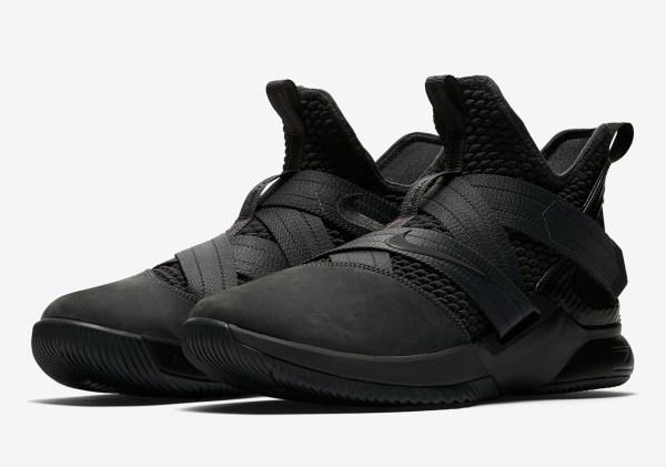 Nike LeBron Soldier 12 quotZero Dark Thirtyquot AO4054002