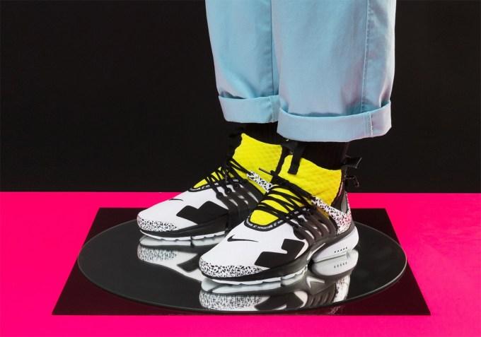 new style 15211 70fb5 Acronym Nike Presto Mid Raffle List Sneakernews Com