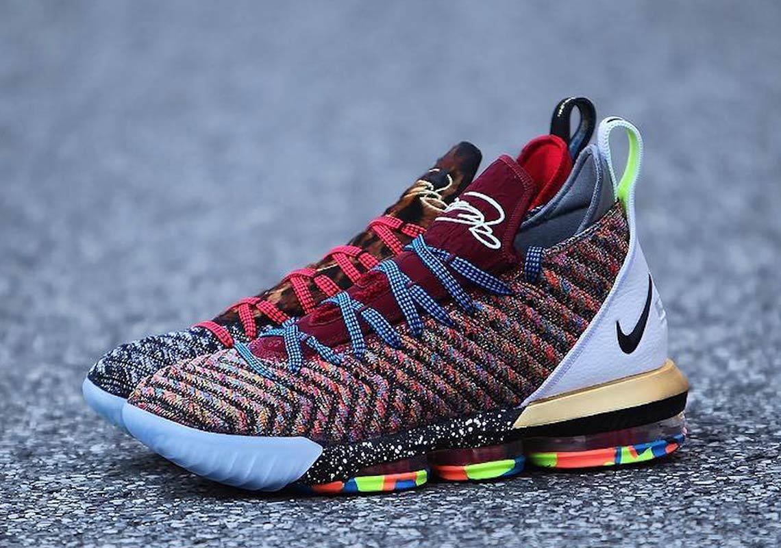 Lebron Basketball Shoes Purple