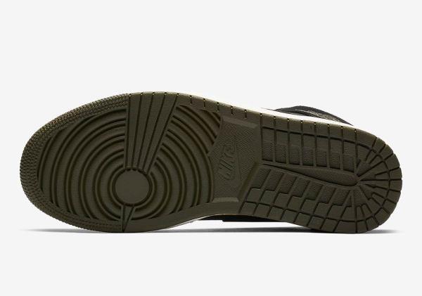 Air Jordan 1 Mid Fleece Bq6579-300 Bq6579-001