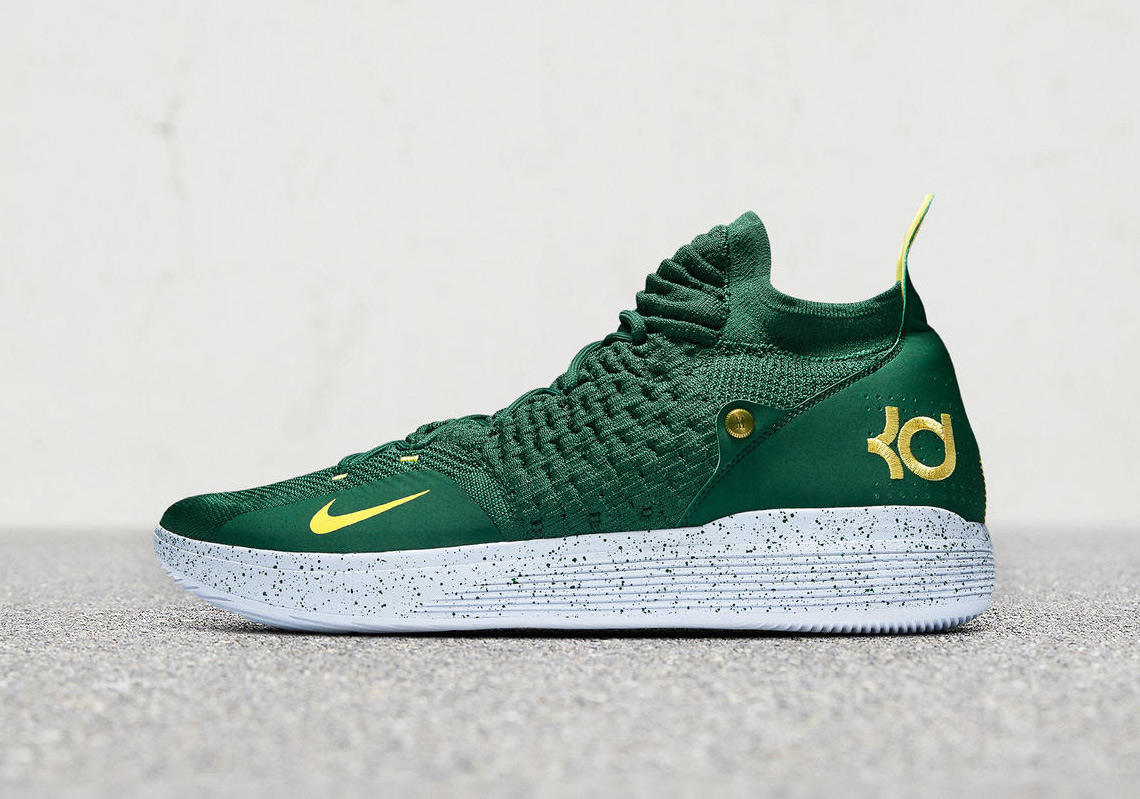 Nike KD 11 Seattle Sonics PE | SneakerNews.com