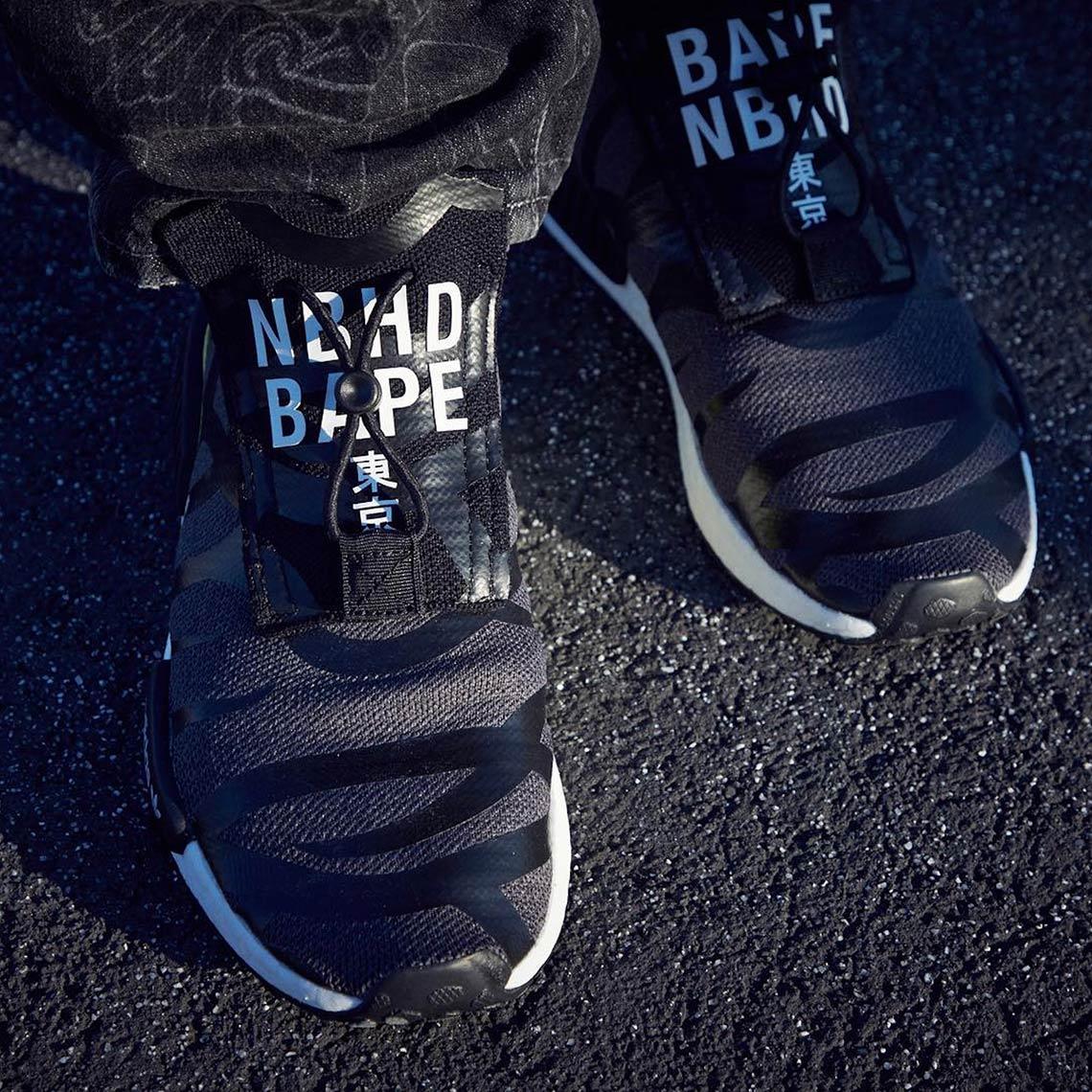 Bape Neighborhood Adidas NMD TS1 POD S31