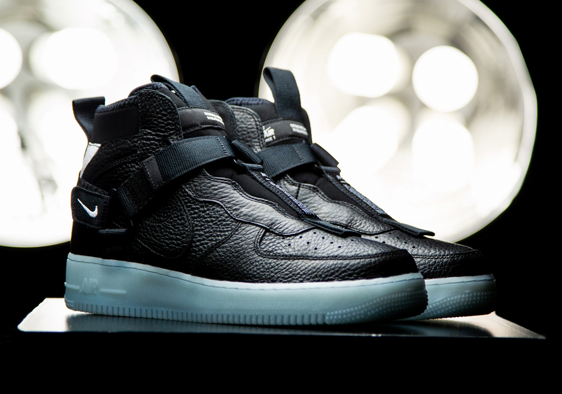 nike air force 1 icy sole