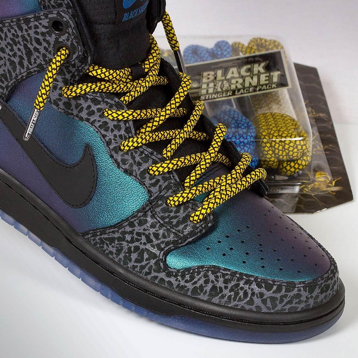 Black Sheep Nike SB Dunk High Black Hornet Info