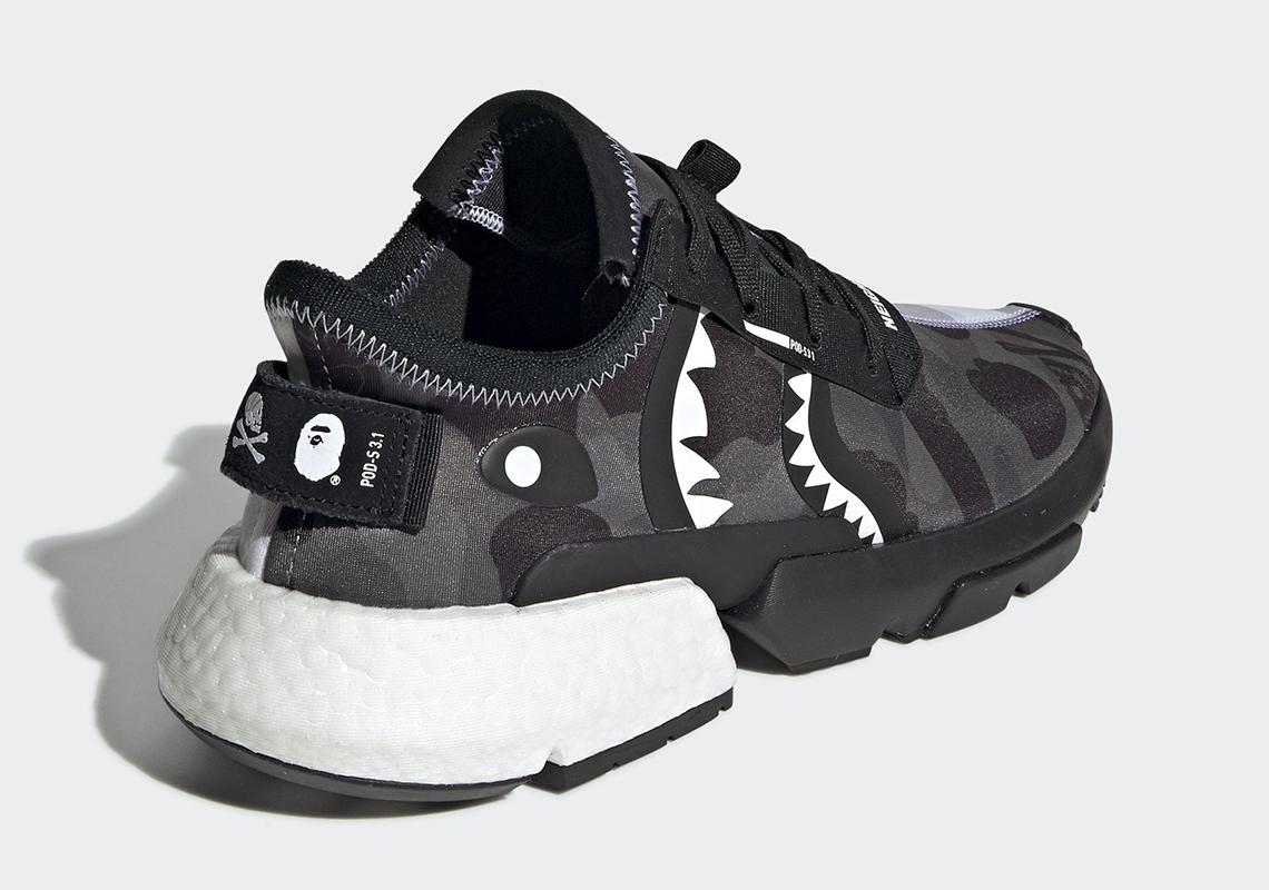 Bape X Neighborhood X Adidas Pod S3.1 Official Images