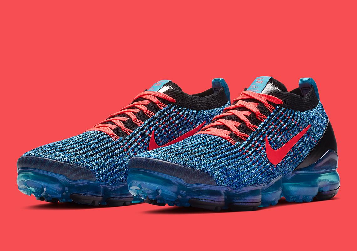 Nike Vapormax Flyknit 30 Blue Fury AJ6900401 Store List  SneakerNewscom