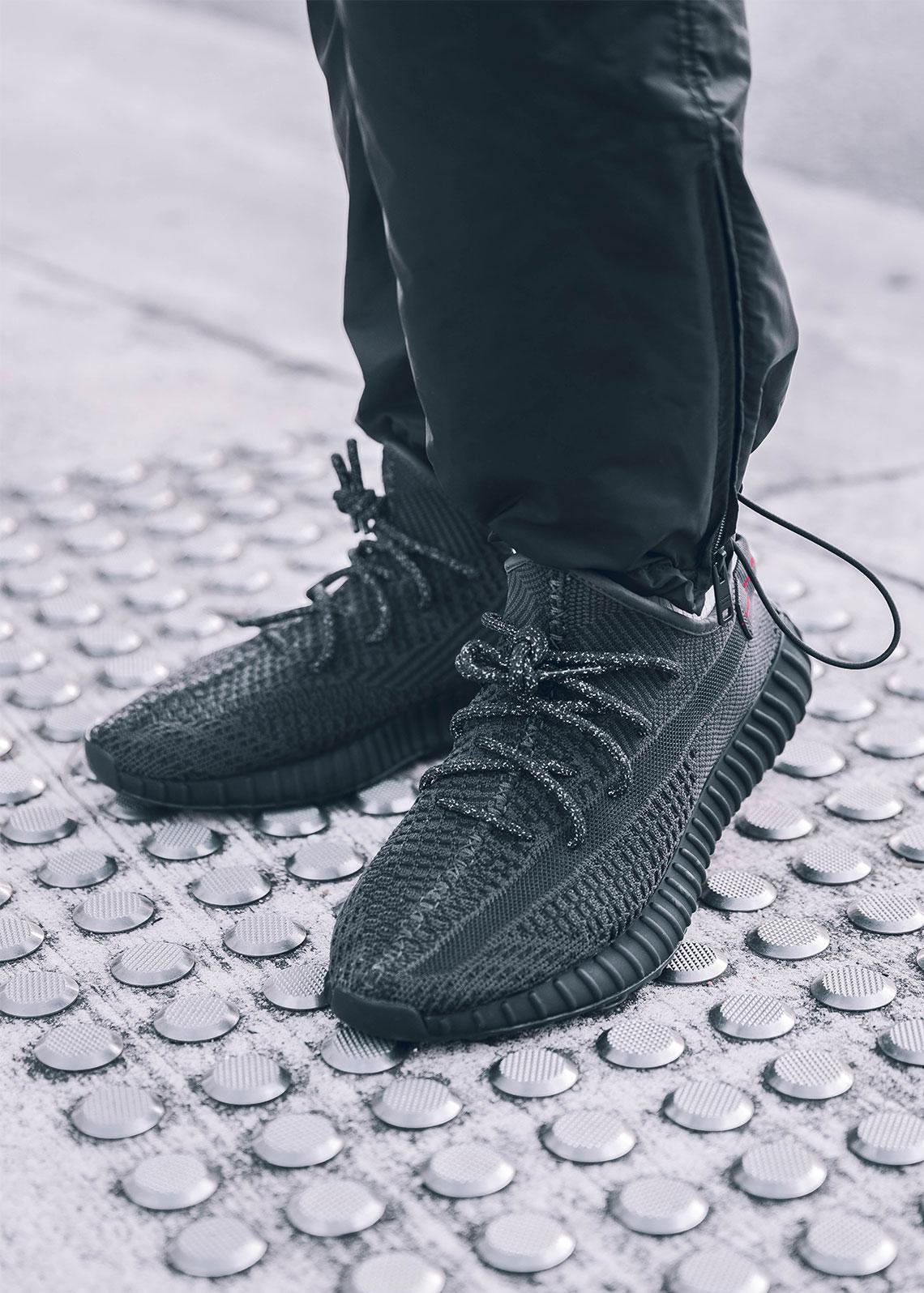 adidas Yeezy Boost 350 v2 Black FU9013 Release Date   SneakerNews.com