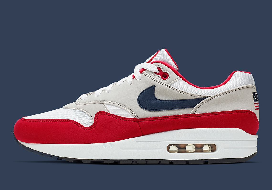 Nike Air Max 1 USA Flag Independence Day CJ4283-100 Release Date | SneakerNews.com
