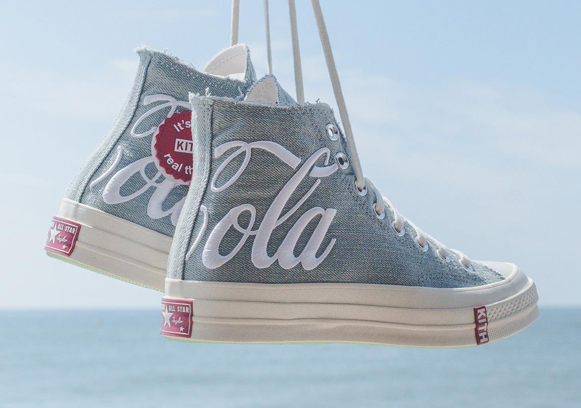 kith coca cola converse