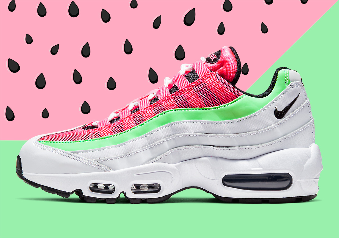 Infos Nike Air Max 95 Watermelon CJ0624 101 Crumpe