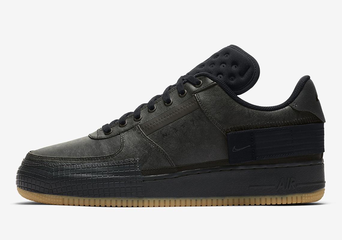 Informations sur la sortie de la Nike Air Force 1 Type Black