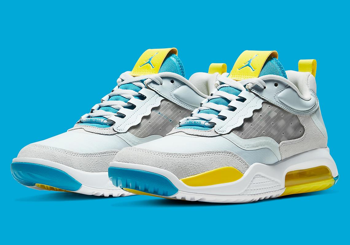 air max 200 jaune bleu