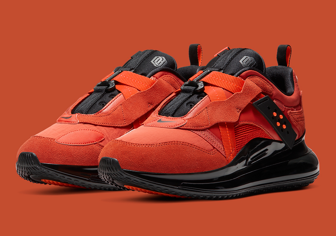 Nike Air Max 720 Slip OBJ Team Orange DA4155 800 Crumpe