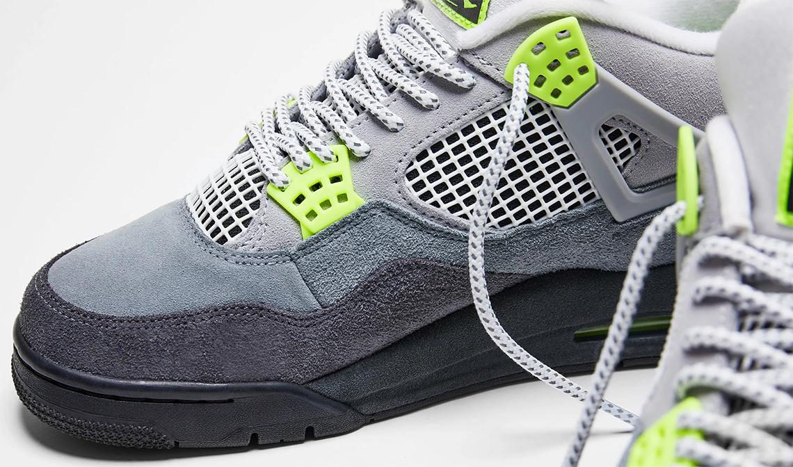 Air Jordan 4 Neon CT5342 007 Infos livraison Crumpe