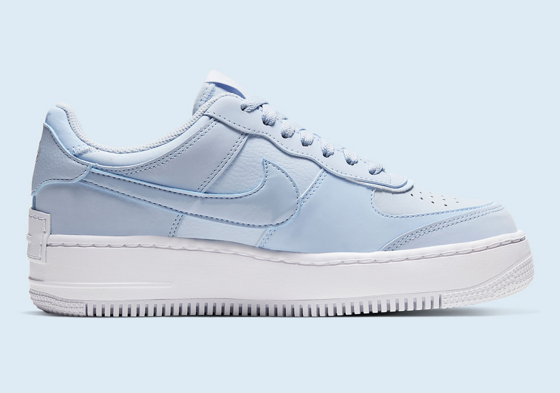 air force 1 shadow bleu