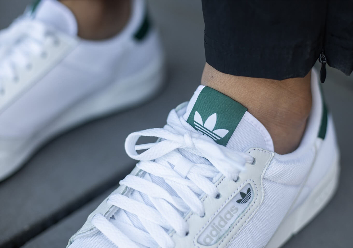adidas Continental 80 Blanc Vert EF5995 - Crumpe