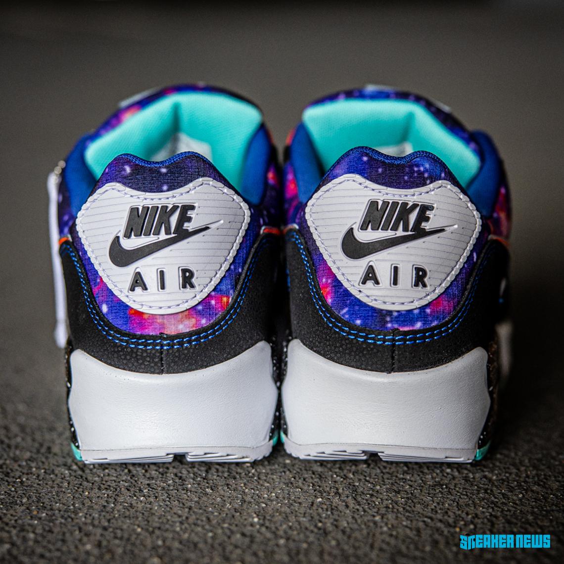 Pack Nike Air Max Space Galaxy Supernova Crumpe