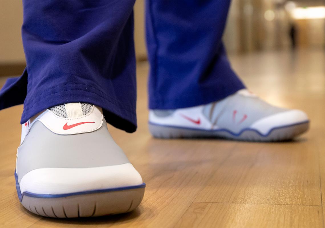 Nike Donates Air Zoom Pulse Healthcare Worker COVID-19 - Crumpe