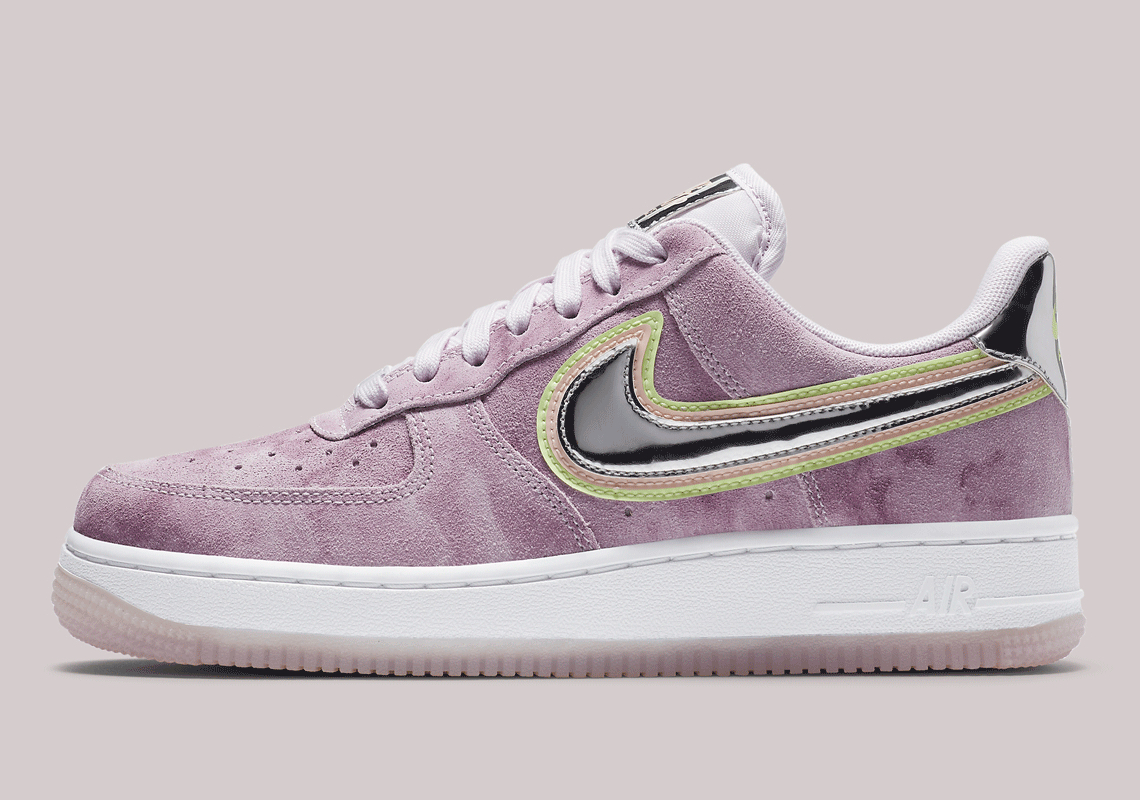 Nike Air Force 1 Low Desert Berry White 315115-156 - Crumpe