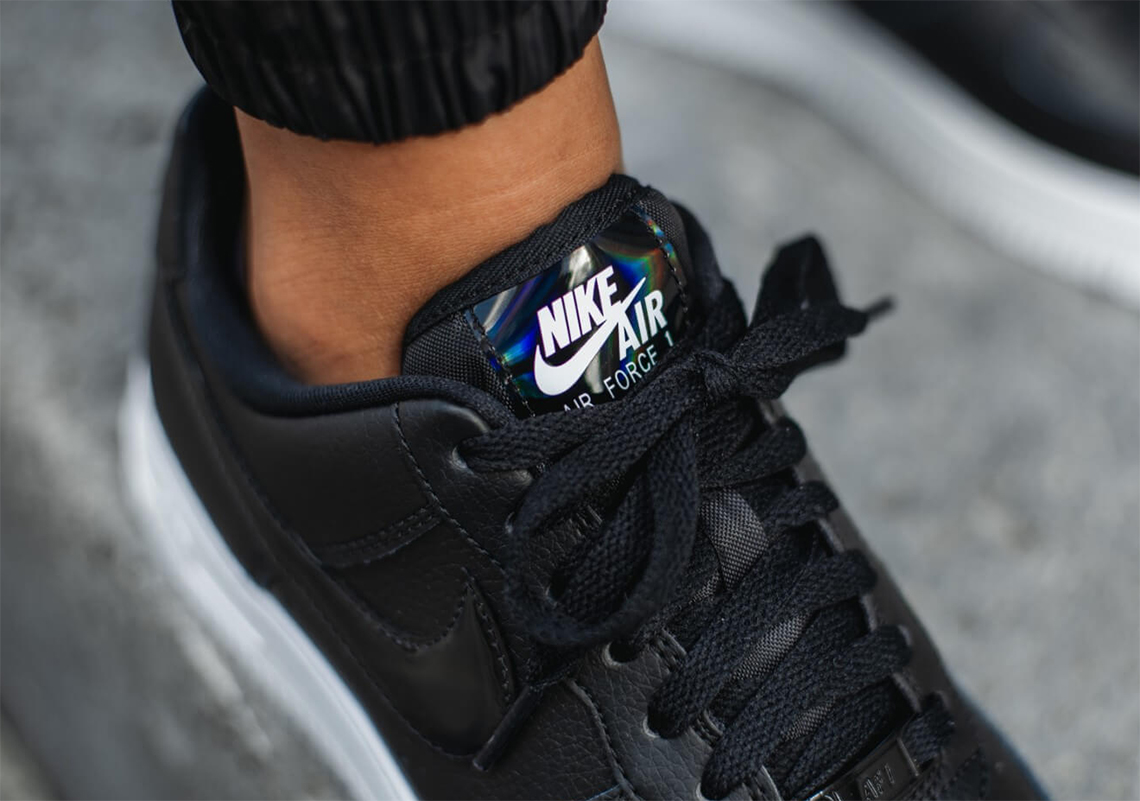 Nike Air Force 1 Low Black Iridescent CJ1646 001 Crumpe
