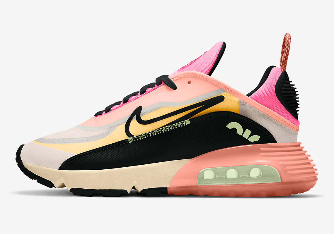 Nike Air Max 2090 Barely Volt Pink Glow CT1290 700 Crumpe