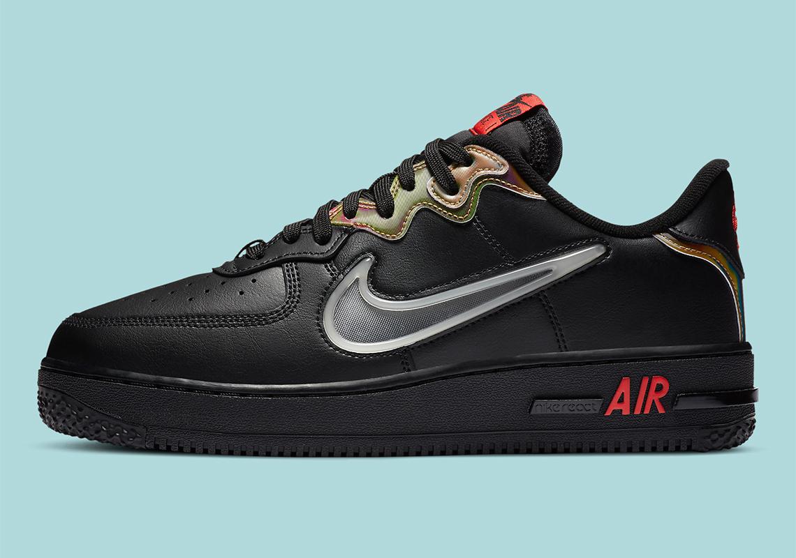 Nike Air Force 1 LV8 React CN9838-001 - Crumpe