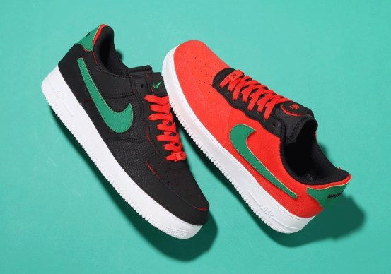Nike Air Force 1/1 red red green DD2429-001